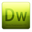 128x128px size png icon of Dw CS3 Icon (clean)
