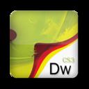 128x128px size png icon of Adobe Dreamweaver CS3