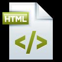 128x128px size png icon of File Adobe Dreamweaver HTML 01