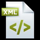 128x128px size png icon of File Adobe Dreamweaver XML 01