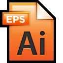 128x128px size png icon of File Adobe Illustrator EPS 01