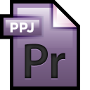 128x128px size png icon of File Adobe Premiere 01