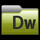 128x128px size png icon of Folder Adobe Dreamweaver 01