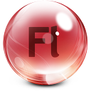 128x128px size png icon of flash