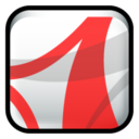 128x128px size png icon of Adobe Acrobat Reader CS2