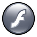 128x128px size png icon of Flash Player 8