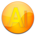 128x128px size png icon of ai2
