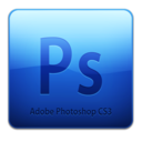 128x128px size png icon of Adobe Photoshop CS3 Icon (clean)