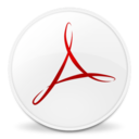 128x128px size png icon of Acrobat 8 Professional