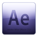128x128px size png icon of Adobe After Effects CS3 Icon (clean)