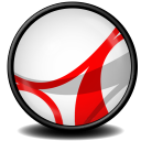 128x128px size png icon of Acrobat Reader 7