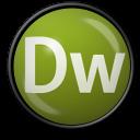 128x128px size png icon of Dreamweaver CS 3