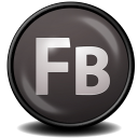 128x128px size png icon of Flash Builder CS 5