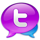 128x128px size png icon of Large Twitter Logo