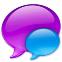 128x128px size png icon of Small Blue Balloon