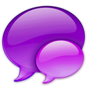 128x128px size png icon of Small Pink Balloon