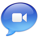 128x128px size png icon of iChat Video