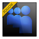 128x128px size png icon of myspace