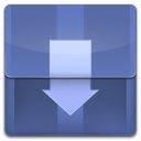 128x128px size png icon of Downloads Folder