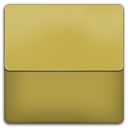 128x128px size png icon of Yellow Plastic Folder