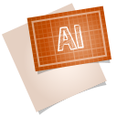 128x128px size png icon of adobe blueprint ai