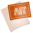 128x128px size png icon of adobe blueprint ait