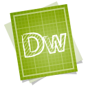 128x128px size png icon of adobe blueprint dreamweaver