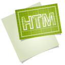 128x128px size png icon of adobe blueprint htm