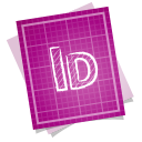 128x128px size png icon of adobe blueprint indesign