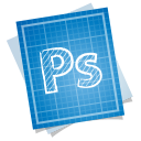 128x128px size png icon of adobe blueprint photoshop