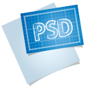 128x128px size png icon of adobe blueprint psd