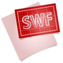128x128px size png icon of adobe blueprint swf