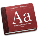 128x128px size png icon of Dictionary