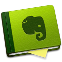 128x128px size png icon of Evernote Alt
