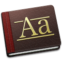 128x128px size png icon of Font Book