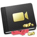 128x128px size png icon of Movie Book Alt