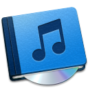 128x128px size png icon of Music Book