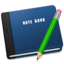 128x128px size png icon of Note Book Alt