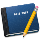 128x128px size png icon of Note Book