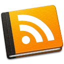 128x128px size png icon of RSS Book