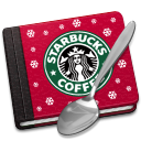 128x128px size png icon of Starbucks Book Alt