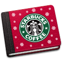 128x128px size png icon of Starbucks Book