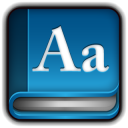 128x128px size png icon of Dictionary Book