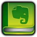128x128px size png icon of Evernote Book