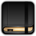 128x128px size png icon of Moleskine Blank Book
