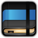128x128px size png icon of Moleskine Blue Book