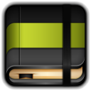128x128px size png icon of Moleskine Book