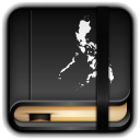 128x128px size png icon of Moleskine My Pilipinas Book
