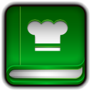 128x128px size png icon of Recipe Book