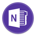 128x128px size png icon of OneNote 2
